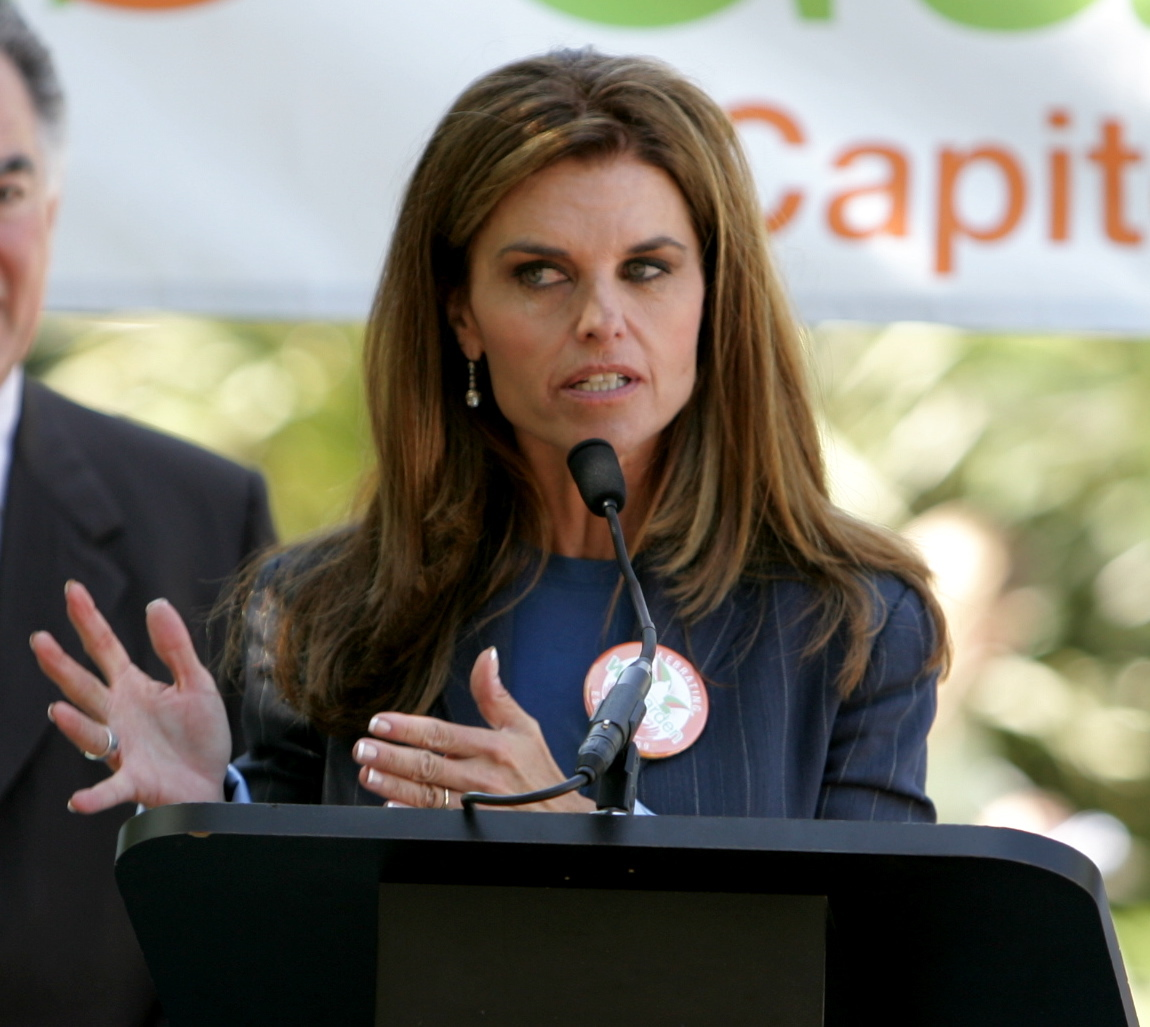 "Maria Shriver Talks at ""We Garden"" Event"