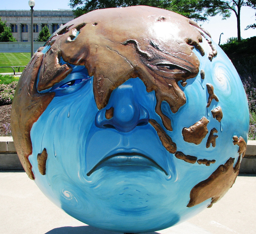 Cool Globes Chicago Sad Earth